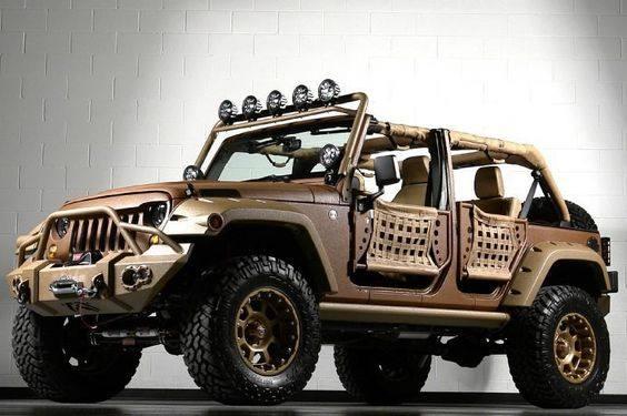 jeep牧马人改装越野车