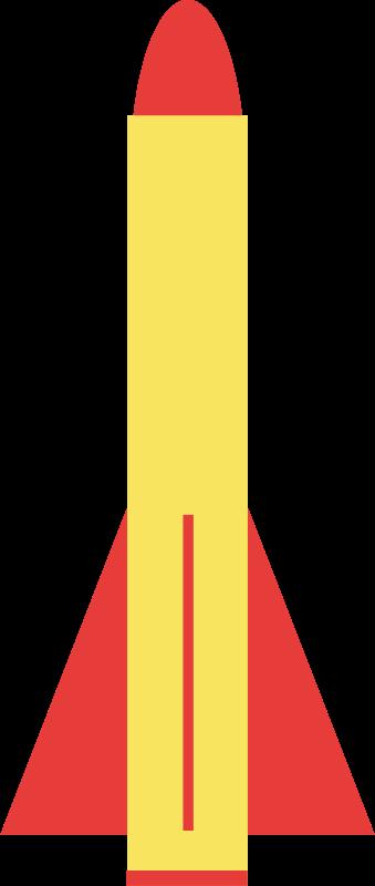 卡通火箭素材