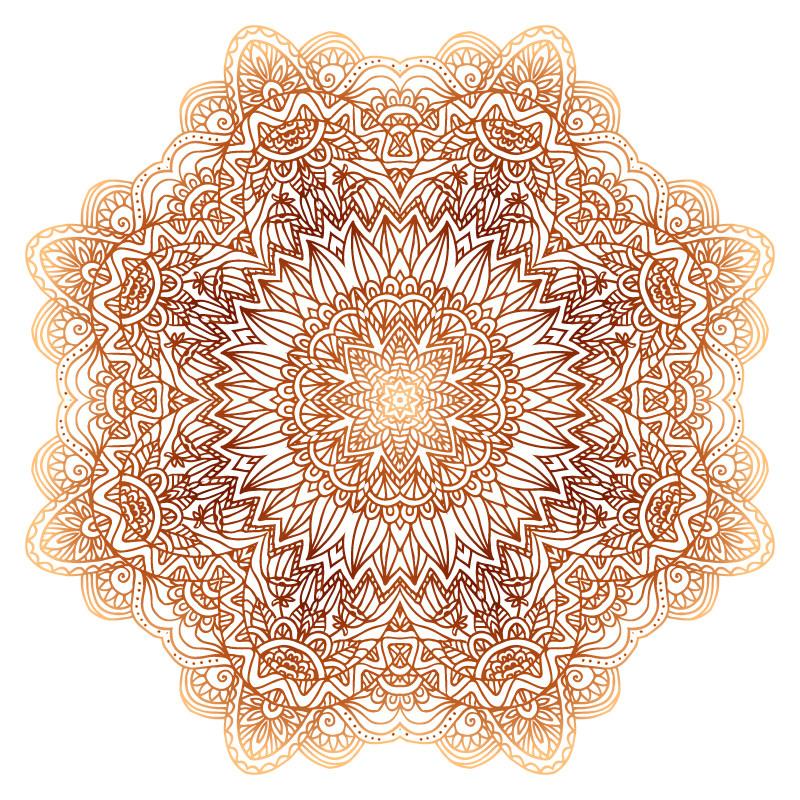 圆形花纹素材套图