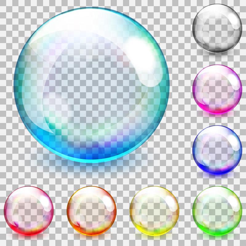 水滴泡泡素材免费下载 水滴泡泡标签栏素材 水滴泡泡边框 边框素材