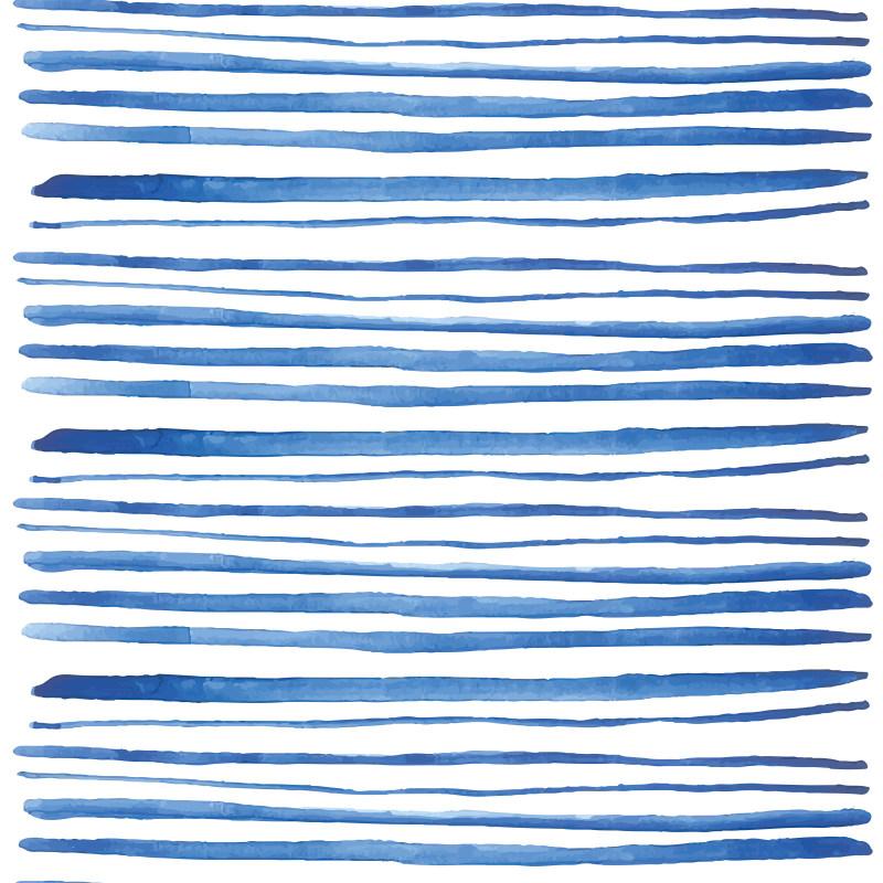 平面/广告 图形图案纹样 背景底纹素材 水彩蓝色条纹背景底纹 条纹