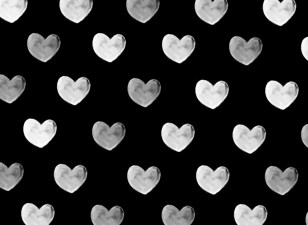 爱心波点背景底纹 波点背景底纹 波点素材 爱心素材