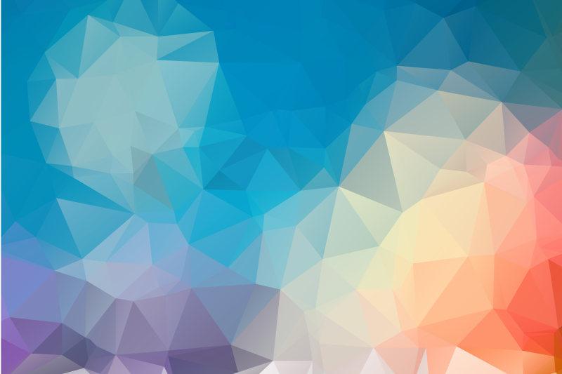 几何背景底纹矢量素材