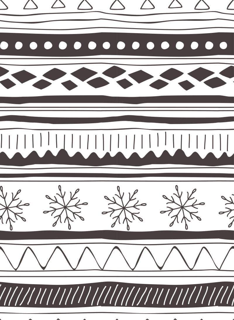 平面/广告 图形图案纹样 背景底纹素材 黑白复古几何背景条纹背景插画