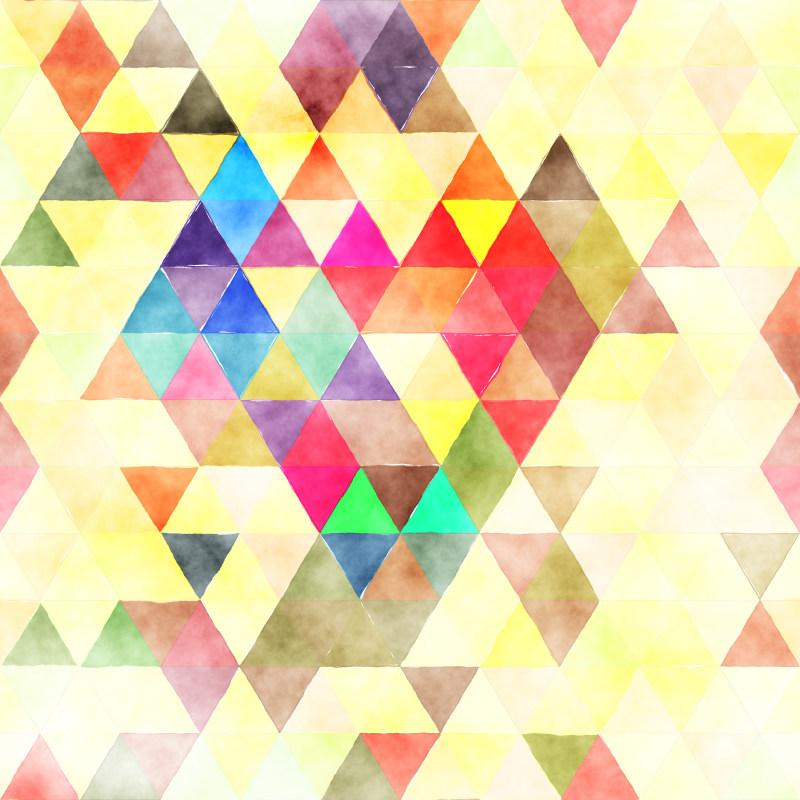 背景底纹素材 三角形几何背景底纹矢量素材  炫彩光晕背景 炫彩马赛克