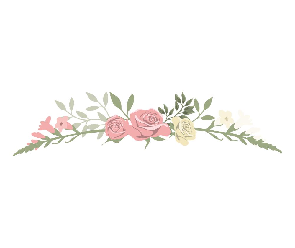 单个花纹边框装饰