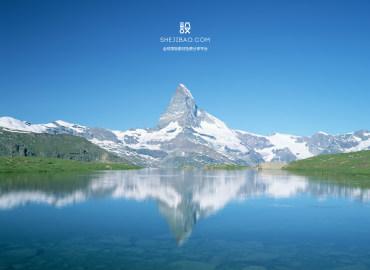 瑞士�L 走景背景�D