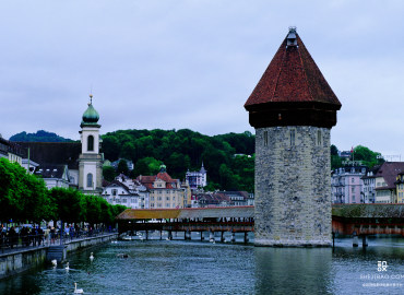 瑞士风景背景图