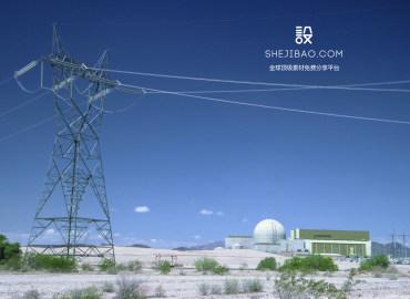 电力铁塔图片样机