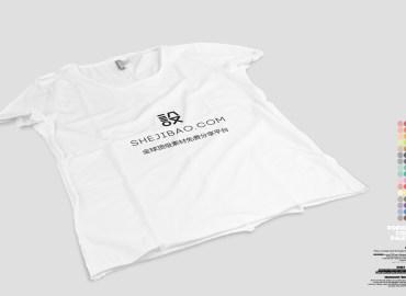 平�白色T恤��CΨ正面