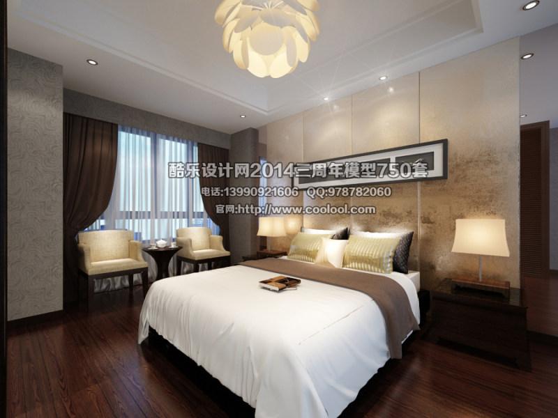 室内装修 装修设计 原创设计 室内装潢设计 室内场景模型 卧室模型