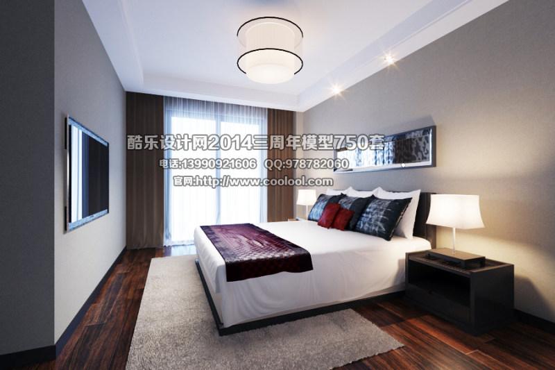 室内装修 装修设计 原创设计 室内装潢设计 室内场景模型 卧室模型 3d