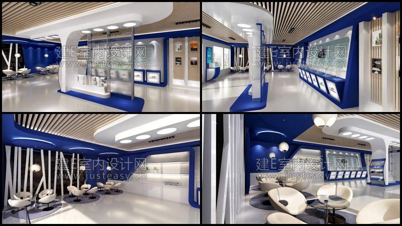 室內 室內工裝模型 商場 商業空間模型