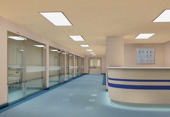 医院_中山眼科医院室内设计实景图