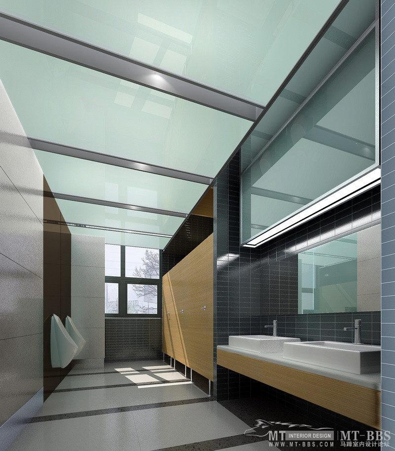 简洁明快的医院室内设计方案实景图