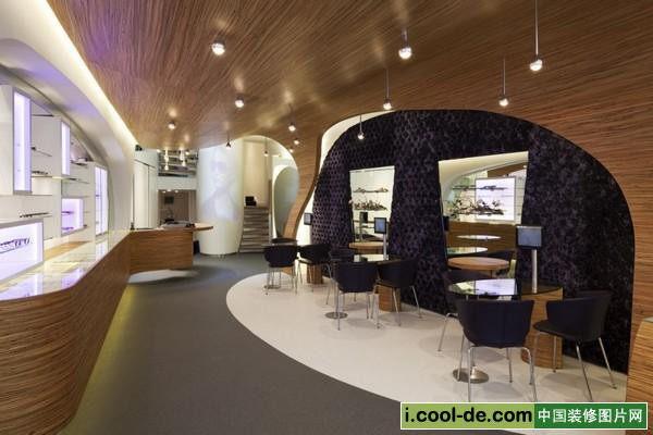 荷兰hofstede眼镜店设计现代风格室内设计实景图