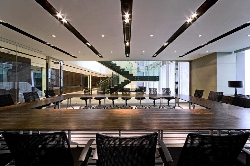 亚太室内设计办公类荣誉奖作品-上海鳄鱼公园广场 室内设计实景图
