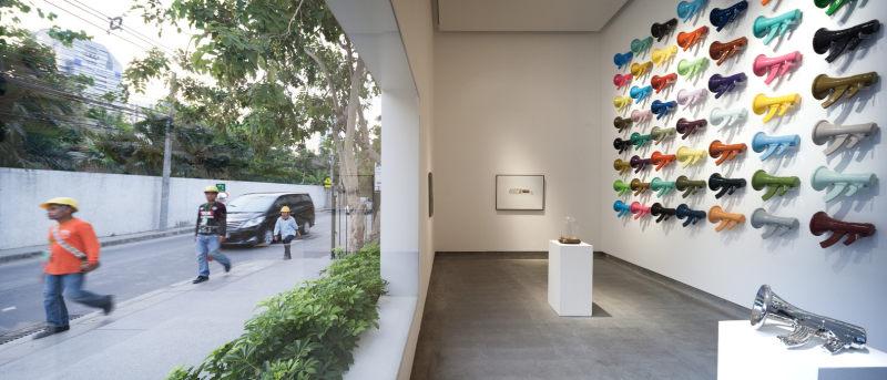 曼谷画廊现代风格室内设计实景图