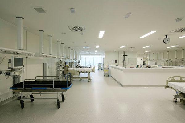 医院_西班牙巴塞罗那的圣琼雷乌斯医院建筑室内设计实景图