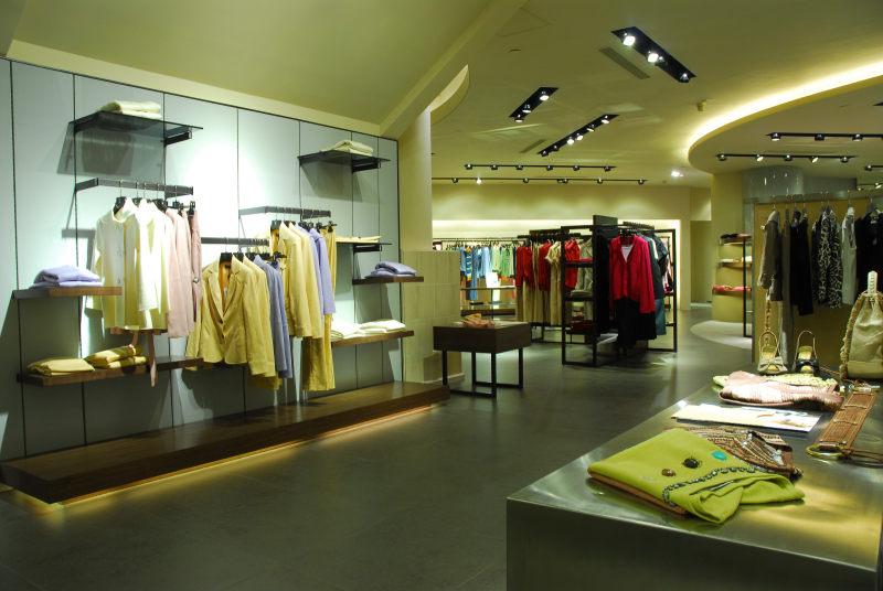 episode服装店现代风格室内设计实景图