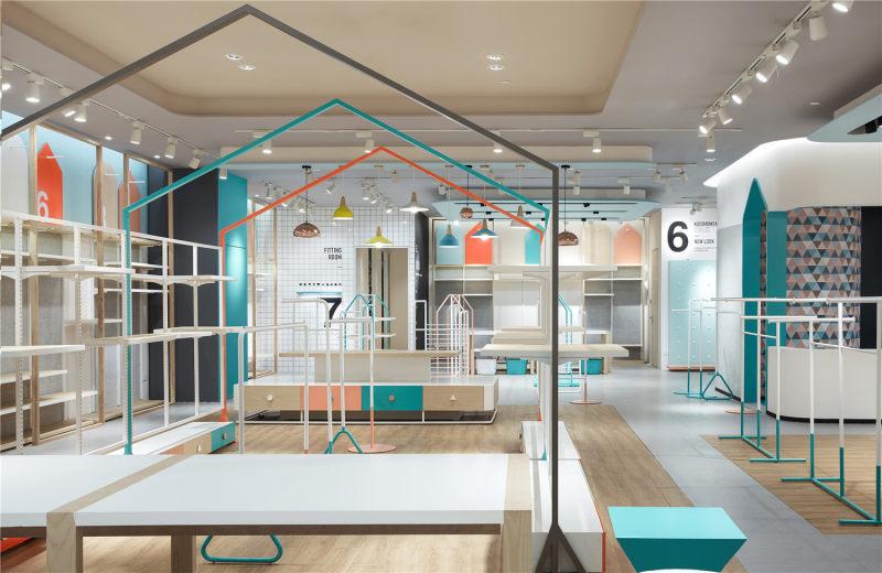 装修设计 原创设计 室内装潢设计 休闲 现代 个性 商业空间 店铺设计
