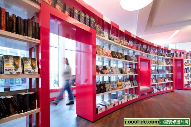 荷兰海牙paagman书店室内设计现代风格实景图