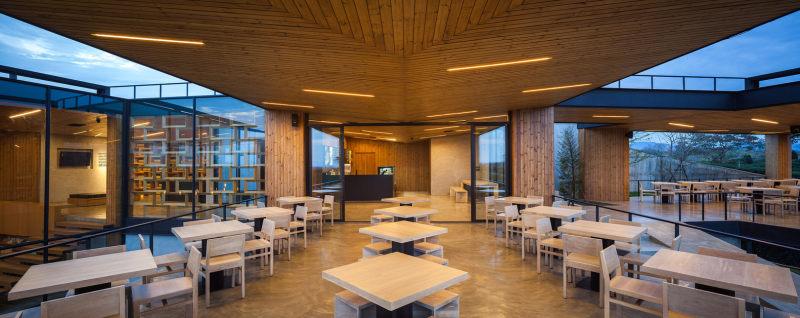 现代风格泰国茶馆室内设计实景图