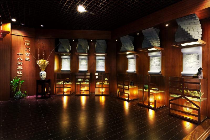 天津桂发祥十八街麻花文化馆室内设计实景图