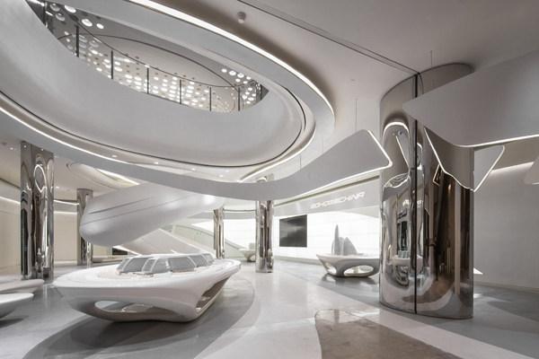 soho中国创意空间 室内办公空间设计实景图图片