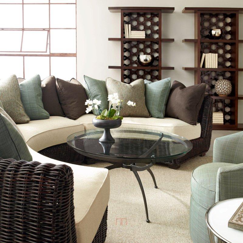 高清国外美式风格家具场景室内住宅设计实景图