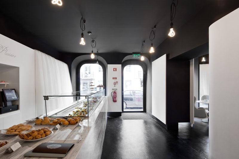 工业风格美食糕点店室内设计实景图