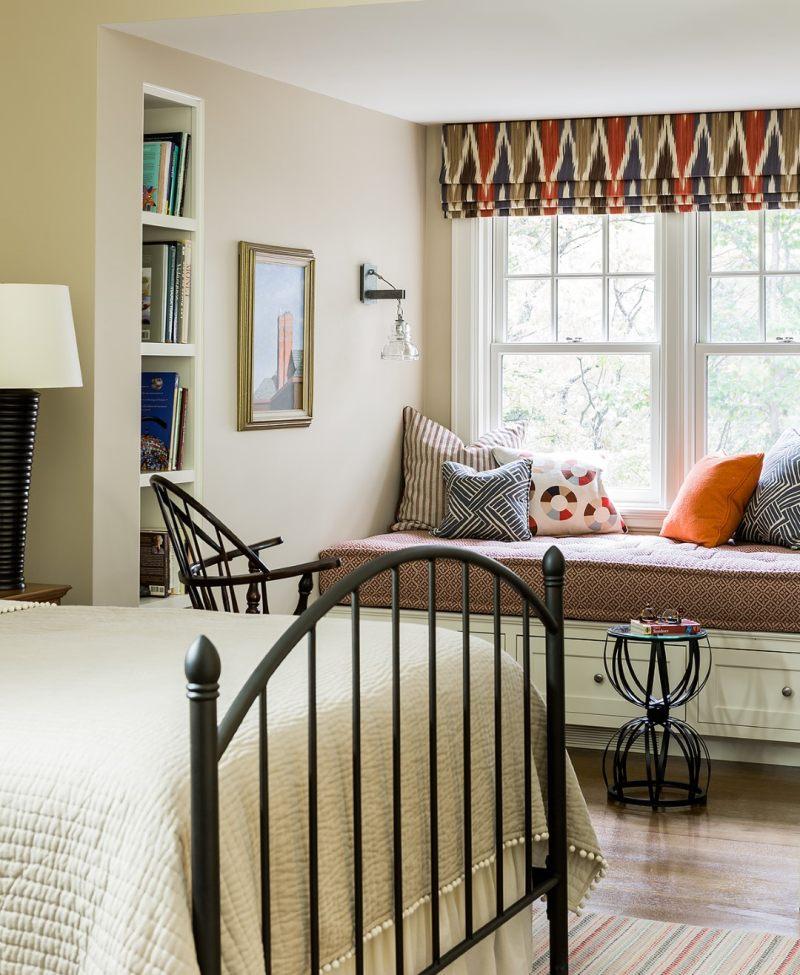 英国法尔茅斯清爽美式私人住宅美式风格室内住宅设计实景图