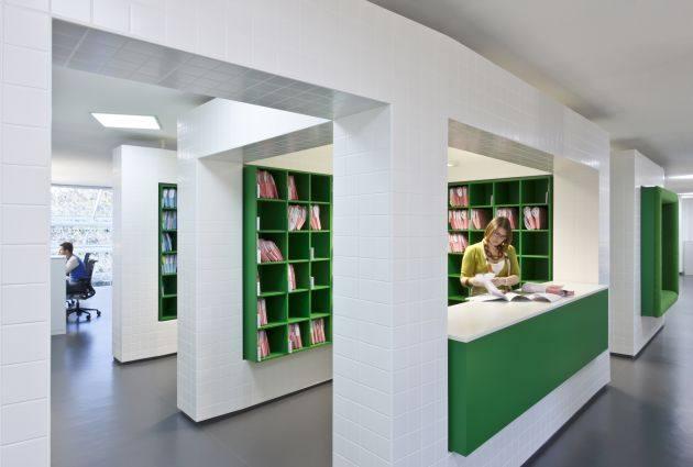 langland广告公司室内办公空间设计实景图