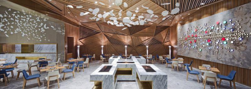 商业空间 店铺设计 商场 销售中心 展厅 休闲 空间结构 流线 工业风