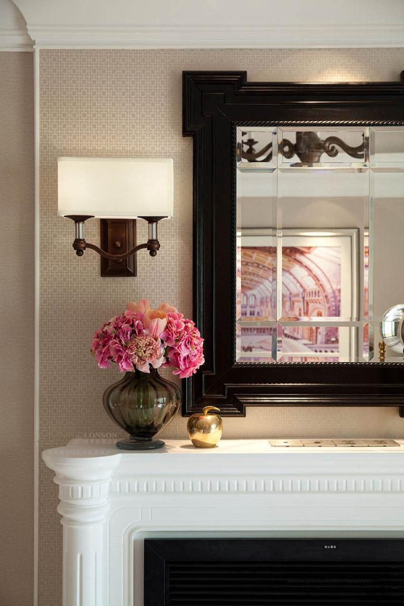 铿锵玫瑰昆明海伦国际现代美式风格样板房室内住宅设计实景图