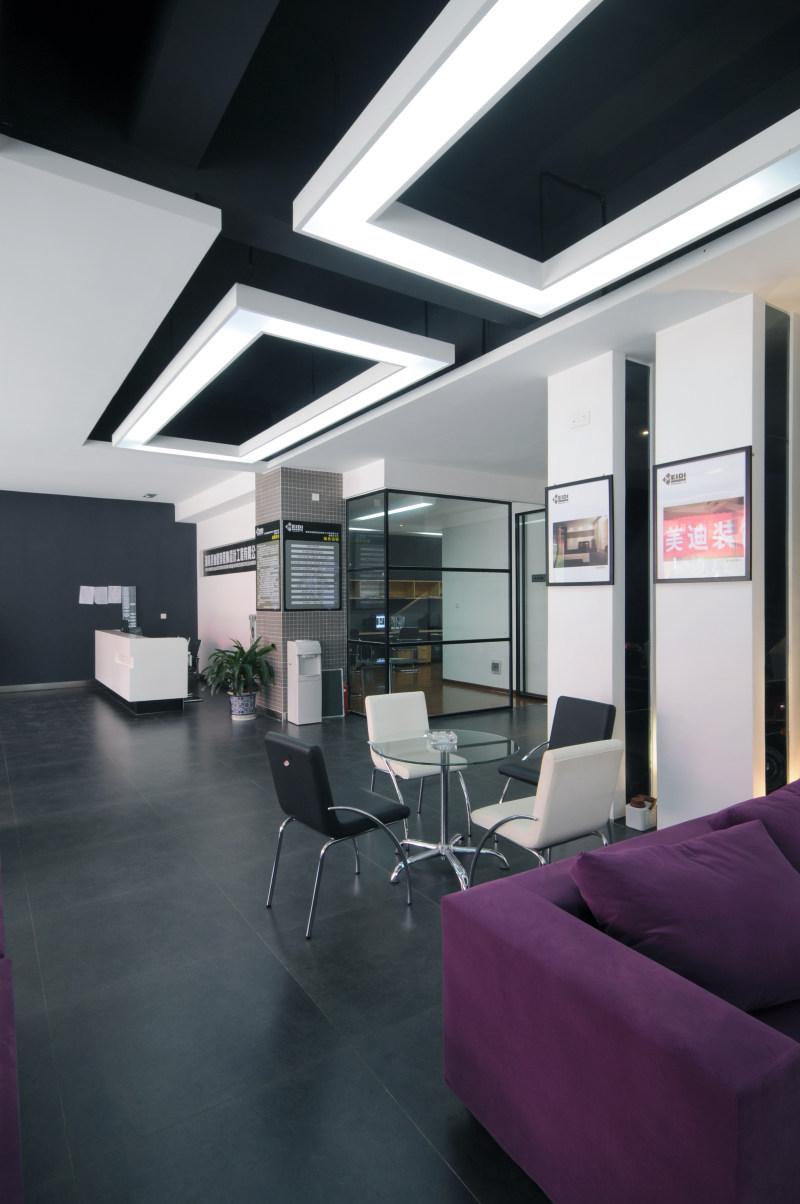 美迪公司办公空间设计室内设计实景图