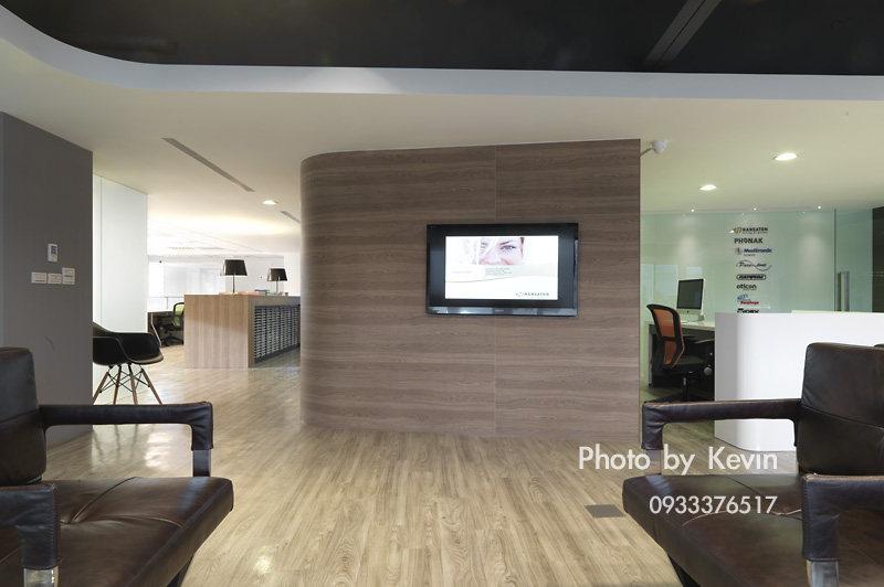 室内办公空间装修现代实业建声风格办公楼---珥本设计室内办公福建室内设计分数线图片