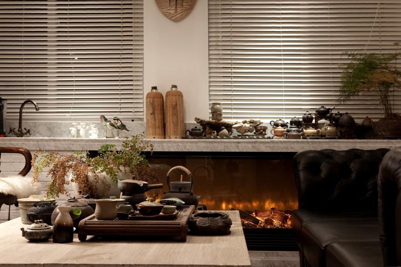 合肥许建国建筑室内装饰设计有限公司工作室室内办公空间设计实景图