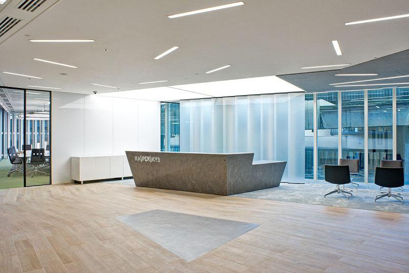kaspersky lab – london offices室内办公空间设计实景图