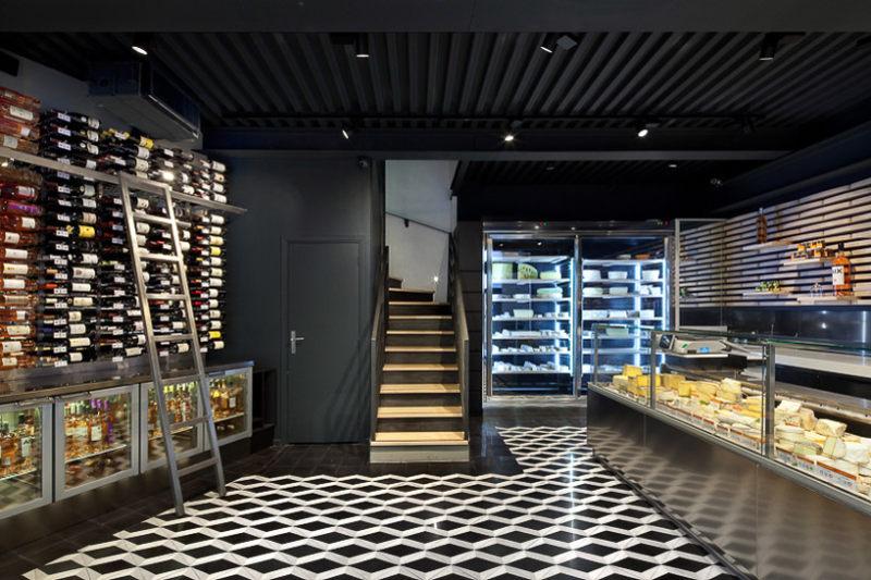 工业风格糕点店室内设计实景图
