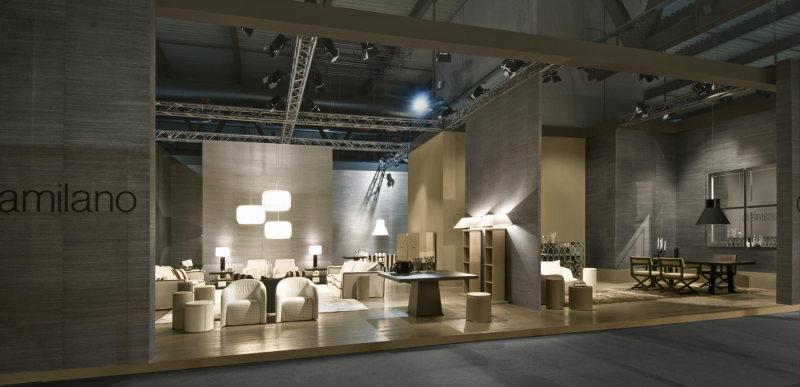 casamilanohome品牌家具展览展示空间室内设计实景图图片