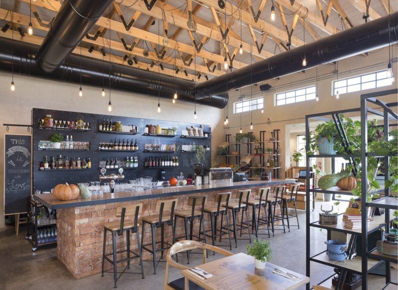 馆_以色列kofinas文献馆和餐厅工业风格室内设计实景图