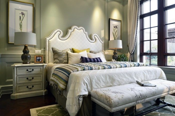 住宅装修 美式风格 金华御园别墅样板房美式风格室内住宅设计实景图