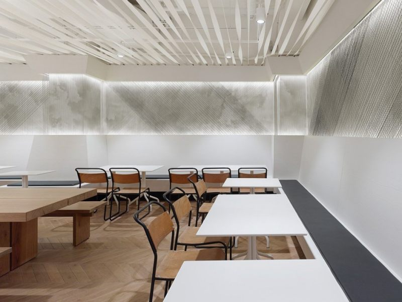 柔美线条 瑞士not guilty餐厅现代风格室内设计实景图