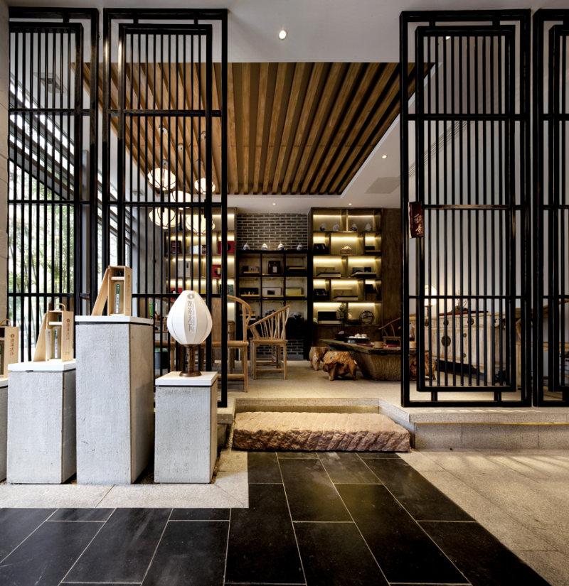 ktv 休闲会所 茶室 酒吧 spa 美容院 中式 新中式 意境 禅意 空间感