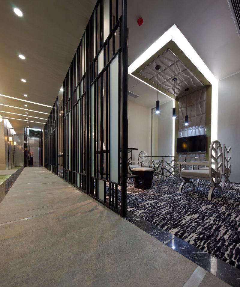 新中式 大气 庄重 禅意 空间结构,中式 空间感 中式风格公共展示空间
