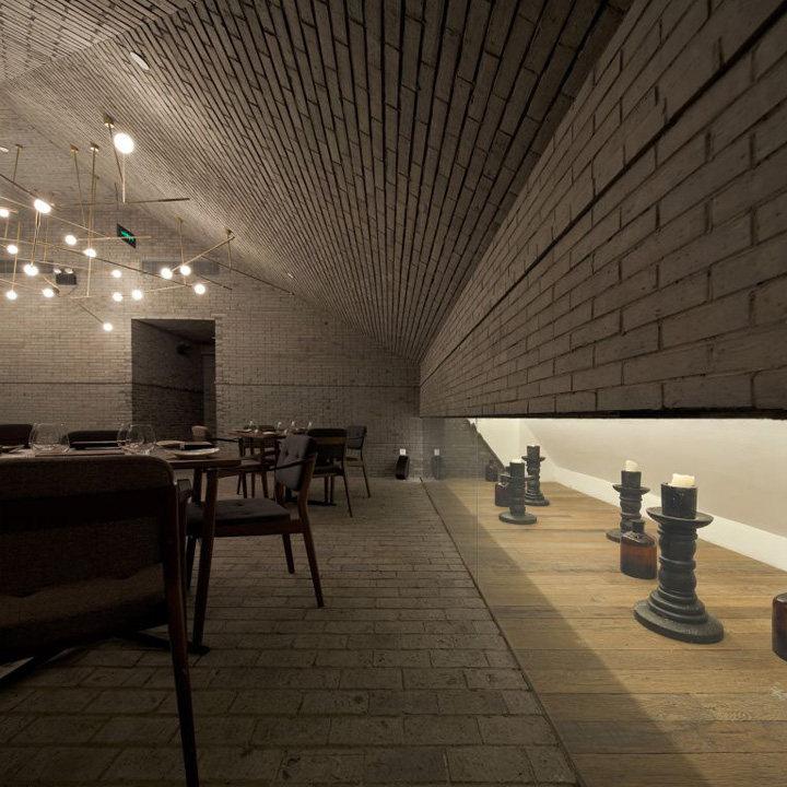 上海capo意式餐厅休闲娱乐类室内设计效果图