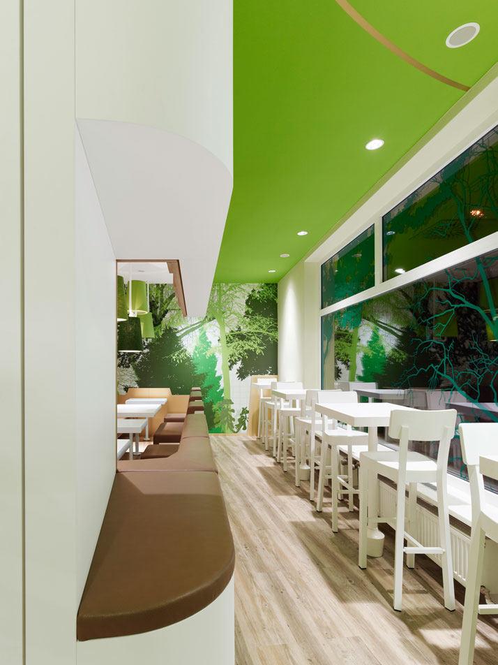 维也纳森林-咖啡吧现代风格室内设计实景图
