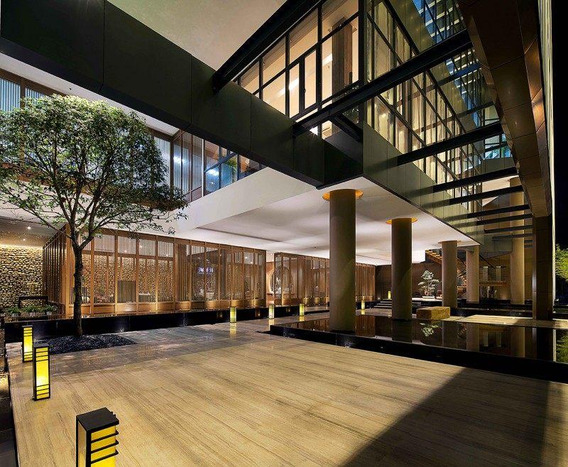 商业空间 店铺设计 展厅 休闲 空间结构 流线, 中式 自然 商场 销售图片