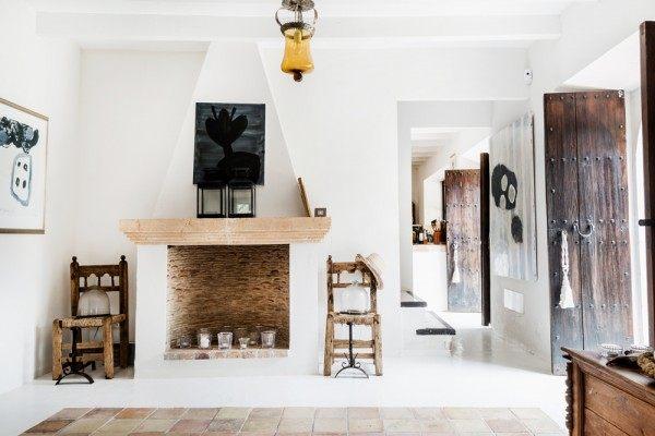 哥本哈根优雅农舍田园风格室内住宅设计实景图